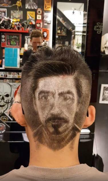 太狂!客人指定要剪「鋼鐵人的頭」去看復仇者 最後一抬頭… 成品長這樣網瞬間看傻!