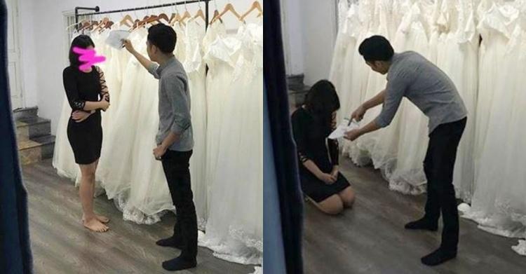 試婚紗突然悔婚!男友暴怒「拿出神秘單子」她瞞不住秒跪痛哭:內容太傻眼了…