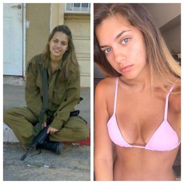 以色列女兵最讚?一排望過去「每個都爆乳」辣到槍走火..打仗先上美人計必勝!